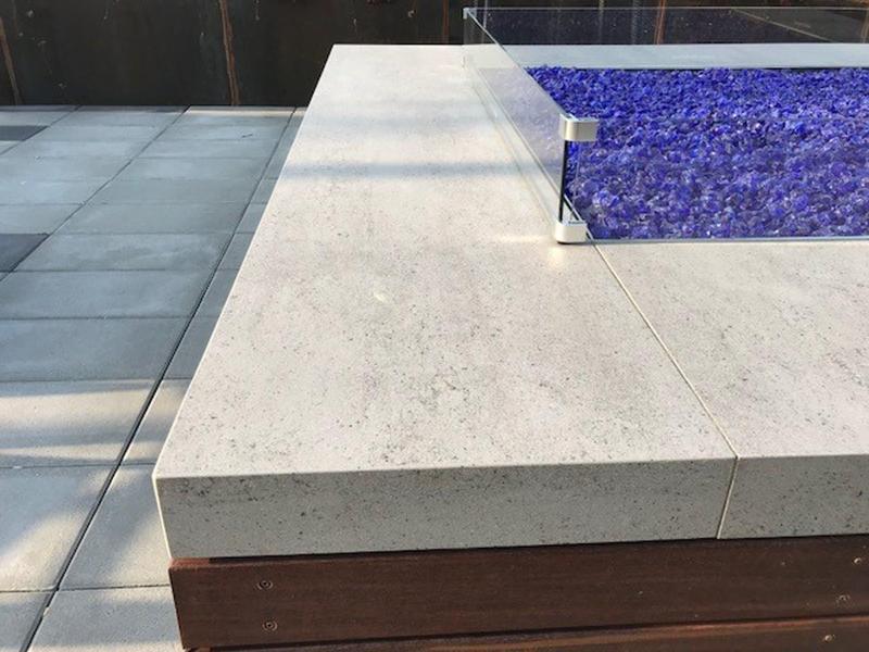 Group 0 Tech Tiles Blanc Concrete Suggested Size 31x56, Textured, Greige, Porcelain, Tile