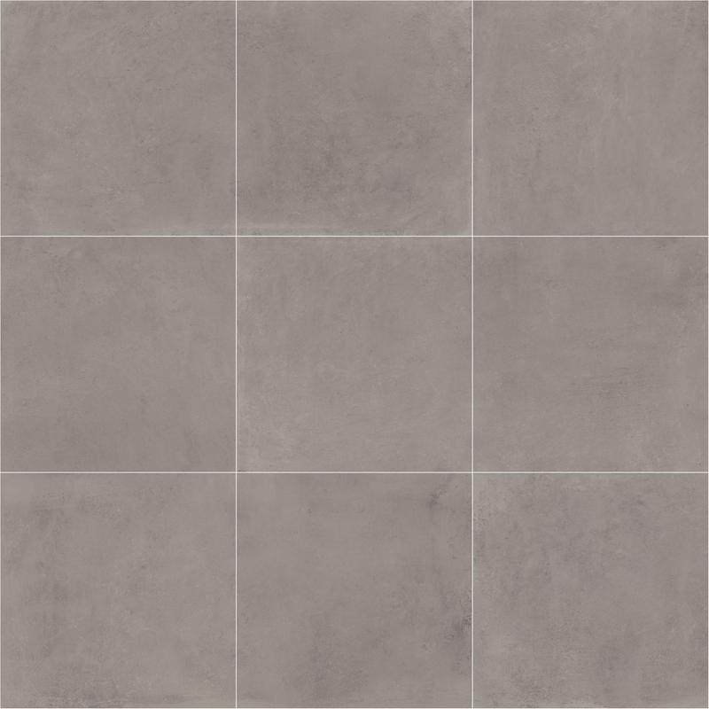 Portfolio Ash Grey 24x24, Matte, Gray, Square, Color-Body-Porcelain, Tile