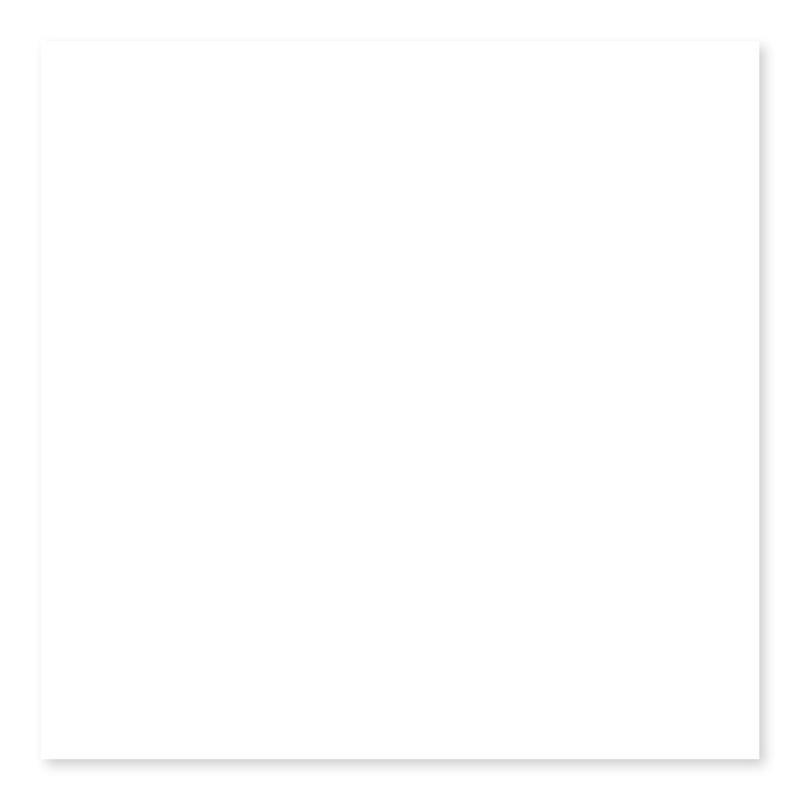 Usct Color Collection White Ice 6x6, Matte, Square, Ceramic, Tile