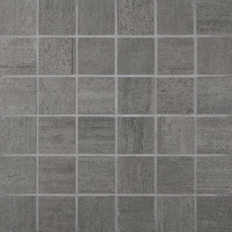 Cemento Cassero Antracite 2x2, Matte, Square, Color-Body-Porcelain, Mosaic
