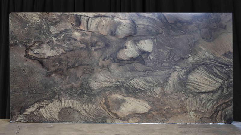 Quartzite Black Fantasy 20 mm Polished  Slab