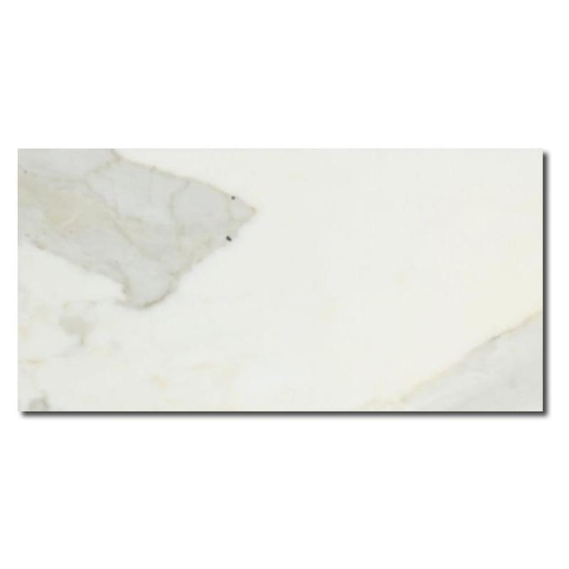 Calacatta Gold Marble Tile 3x6 Honed