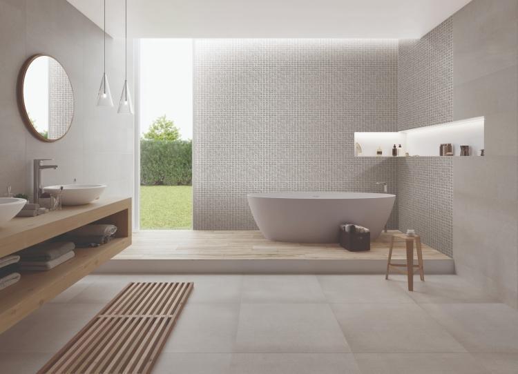 Elevation Grey Project Matte, Textured 11.50x39.50 Ceramic  Tile