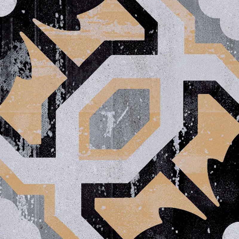 Cementine Posa 2 8x8, Glazed, Square, Porcelain, Tile