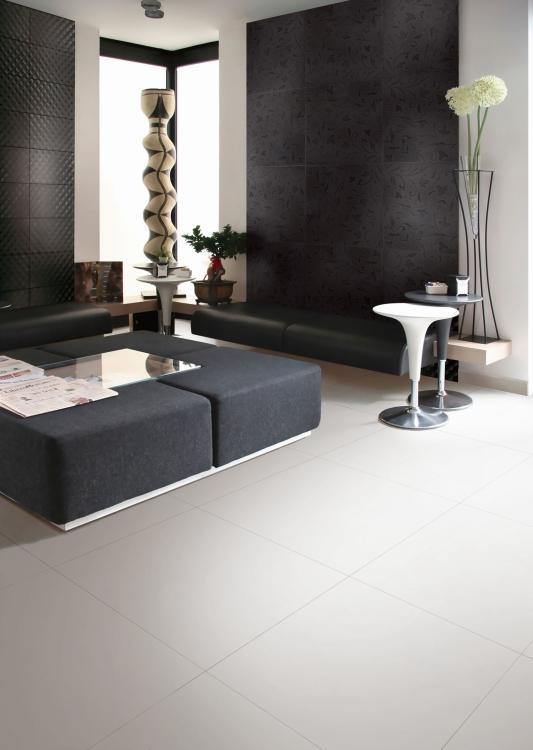 Classic White Matte 24x24 Porcelain  Tile