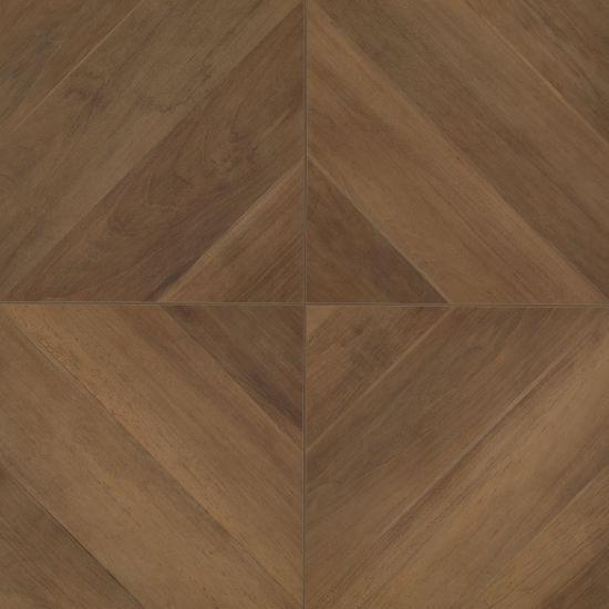 Antique Walnut 24x24, Matte, Brown, Square, Color-Body-Porcelain, Tile
