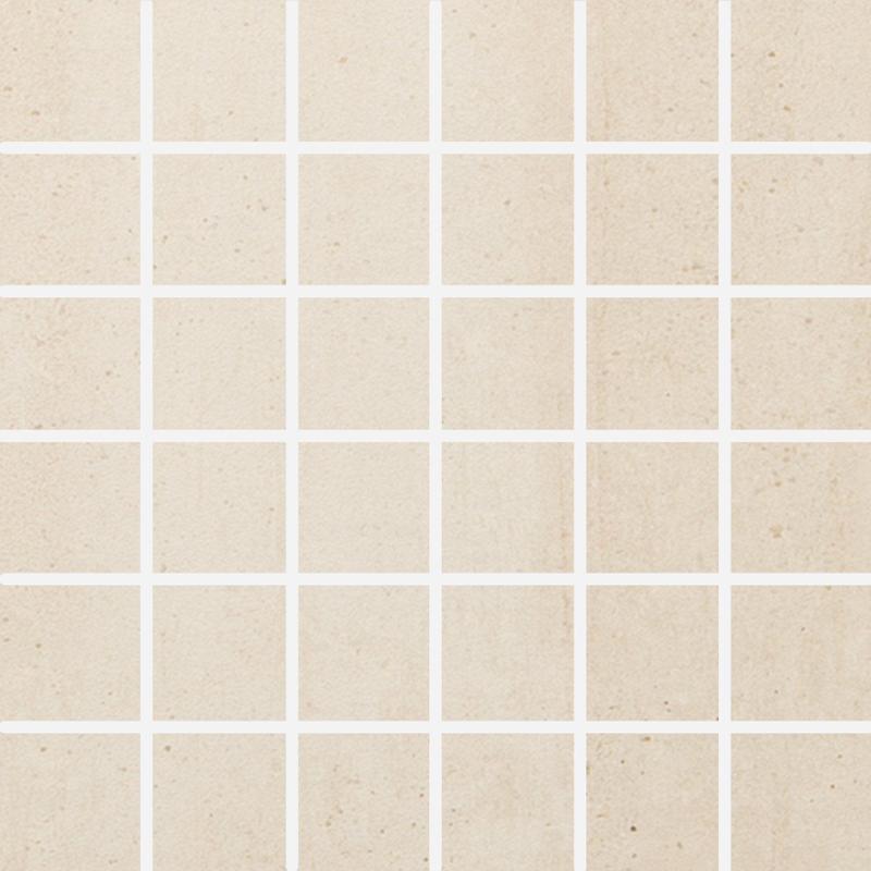Ecocrete Melted Ice 2x2 Square Honed Porcelain  Mosaic
