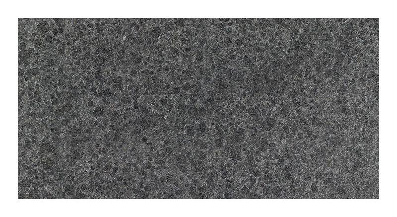 Granite Collection Absolute Black 12x24, Flamed, Rectangle, Tile