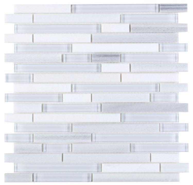 Linear Glass Montage Light Mosaic