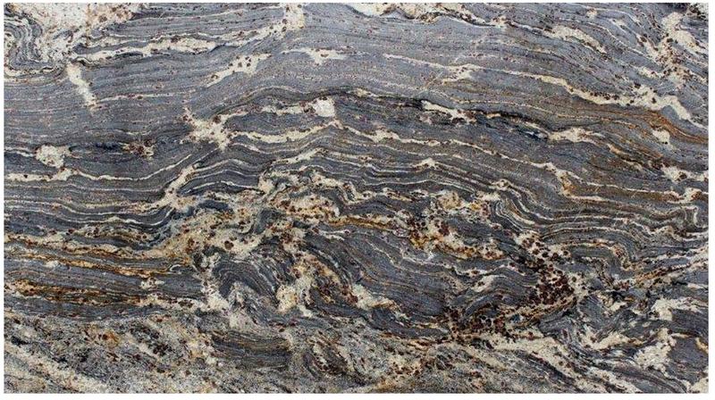 Granite Slabs Giallo Burgundy Polished  Slab