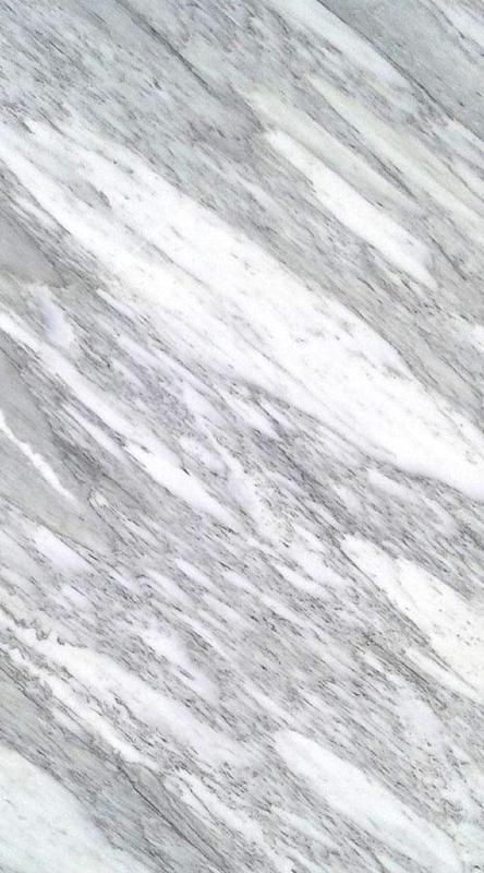 Marble Slabs Bianco Striato 0.79 in Polished  Slab