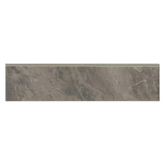 Stone Mountain 2.0 Silver Glazed 3x12 Porcelain Surface Bullnose