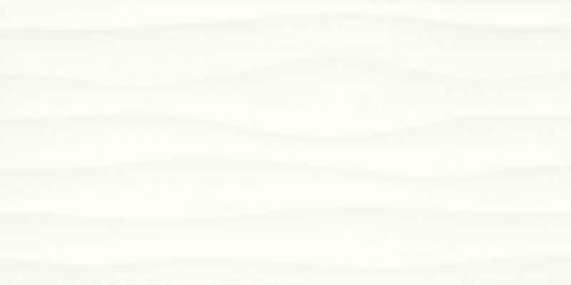 Multitude Origami White 12x24, Textured, Rectangle, Ceramic, Tile