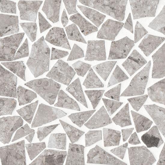 Frammenta Light Grey Paladio Matte Color Body Porcelain  Mosaic