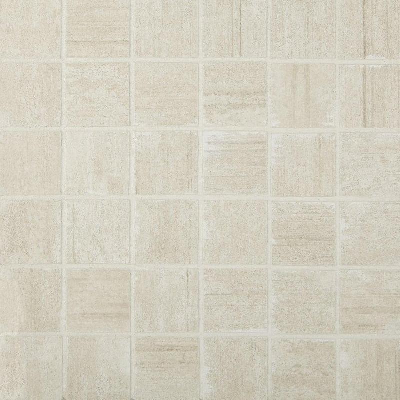 Cemento Cassero Beige 2x2, Matte, Square, Color-Body-Porcelain, Mosaic