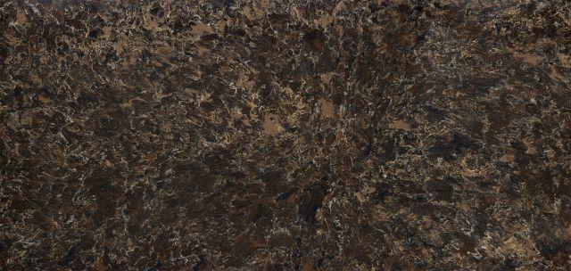 Signature Laneshaw 65.5x132, 1 cm, Polished, Black, Brown, Tan, Quartz, Slab