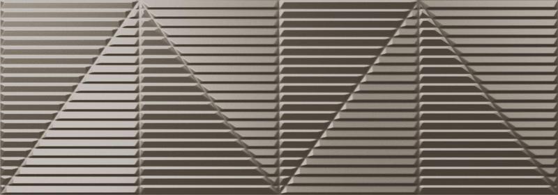 Newker Series Tresor Silver Polished 13x36 Porcelain  Tile