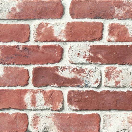 Avondale Used Red Matte 2x8 Brick  Tile