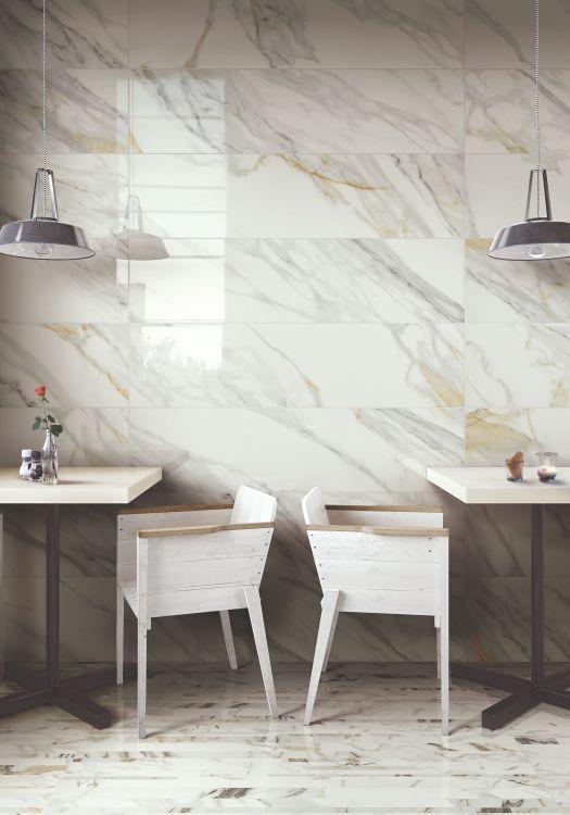 Selezione Marmi Macchiavecchia Bricks Polished, Glazed 12x24 Porcelain  Tile