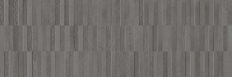 Textures Dark Gray 13x39, Matte, Rectangle, Ceramic, Tile