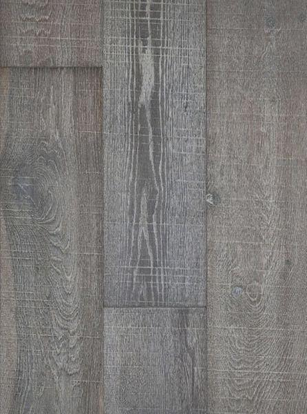 Seneca Valley Collection Paint Branch 7.5xfree length, Wire-Brushed, Gray, European-Oak, Engineered-Wood