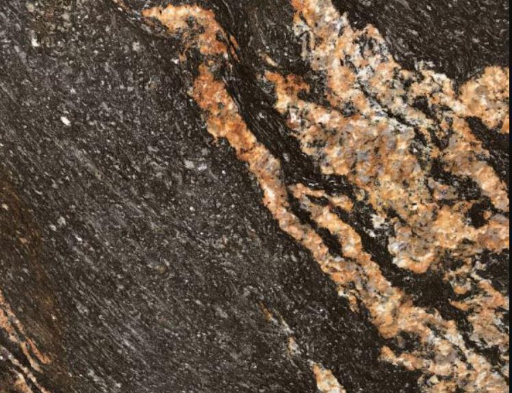Granite Black Fusion 70x112 20 mm Polished  Slab