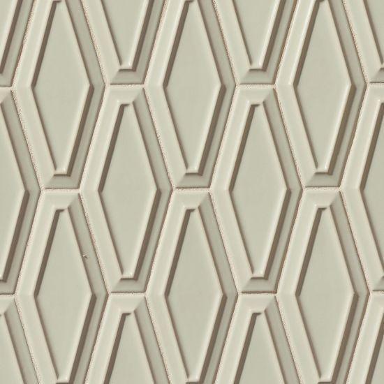 Costa Allegra Silver Strand Pacifico 4x9, Matte, Long-Hexagon, Ceramic, Tile, (Discontinued)