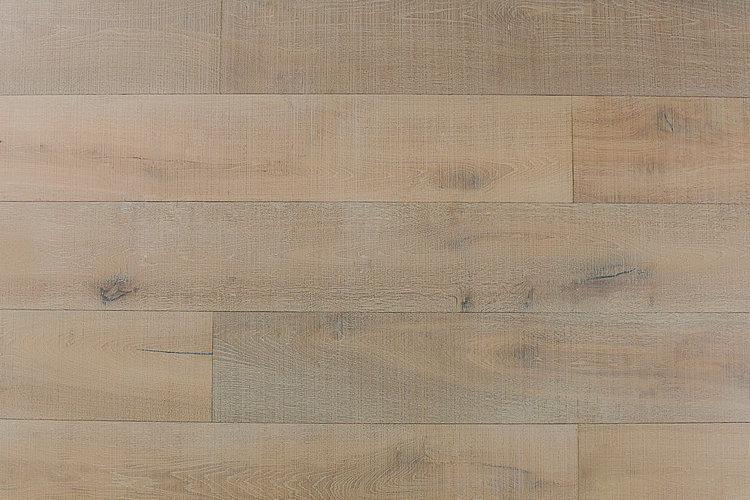 Audere By Montserrat Distressed Moderne 9xfree length, Wire-Brushed, Tan, European-Oak, Engineered-Hardwood, Wood