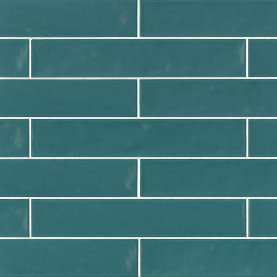 Sorrento Turchese Glossy 3x16 Ceramic  Tile