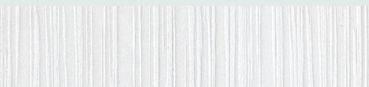 Nobel White Glazed, Polished 3x12 Porcelain Bullnose