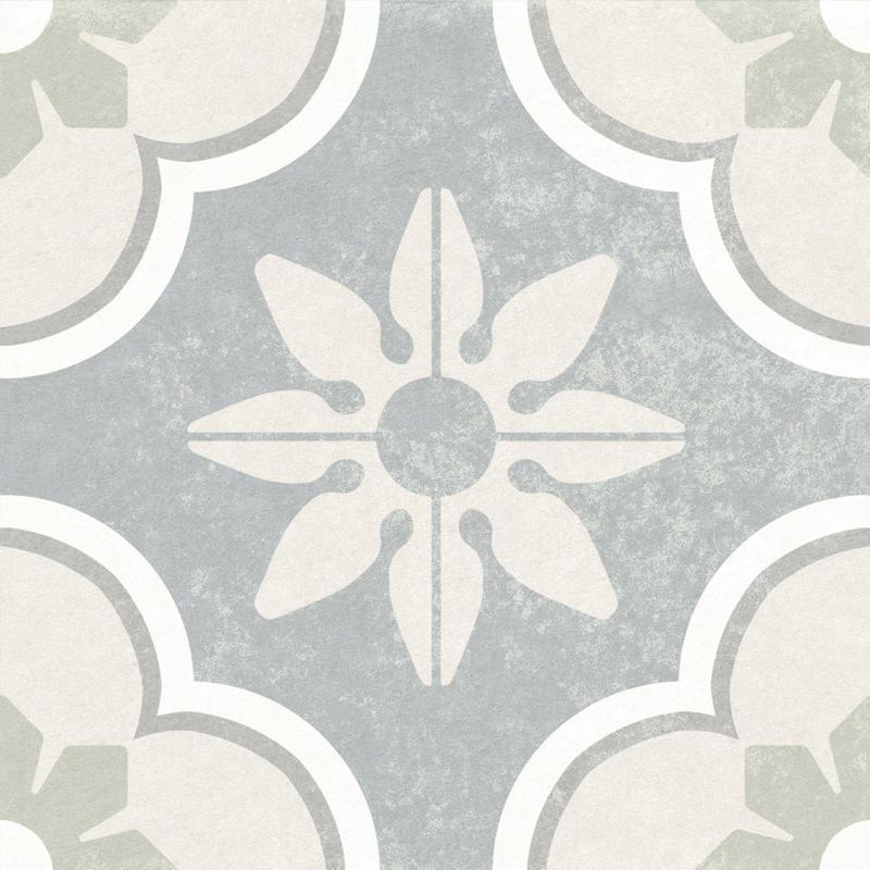 Hampton 15 Montauk Matte 6x6 Porcelain  Tile