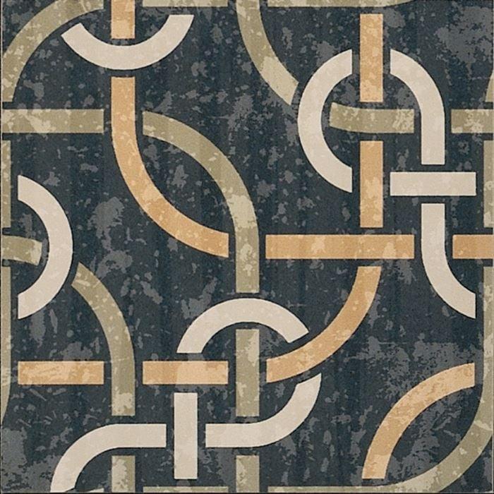 Cementine Evo 1 8x8, Glazed, Square, Porcelain, Tile