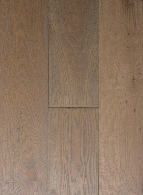 Laguna Oak Collection Fawn 7.5xfree length, Wire-Brushed, Brown, Engineered-Wood