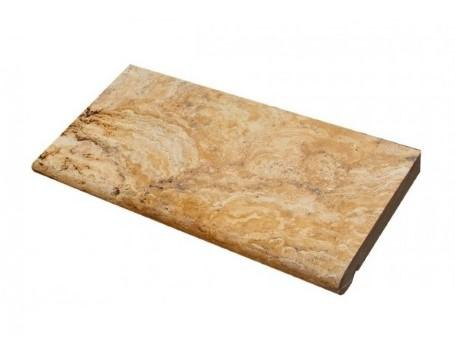 Scabos Travertine Coping 16x24    3