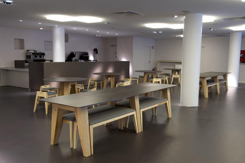 Group 0 Industrial Tiles Milar Suggested Size 28x62, Smooth-Matte, Dark Brown, Porcelain, Tile