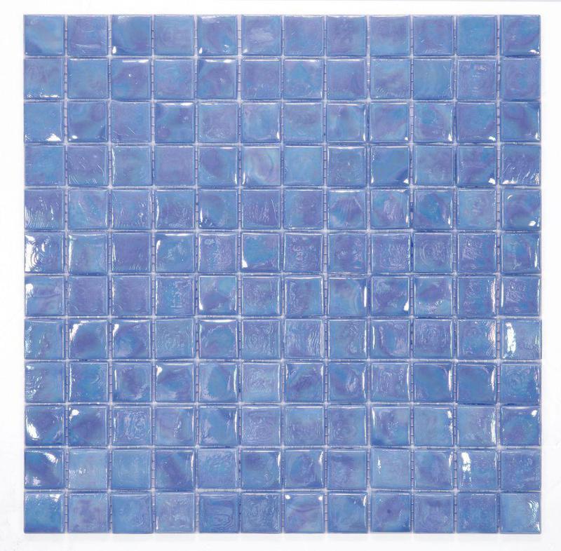 Laguna Iris 1x1 Square  Glass  Mosaic