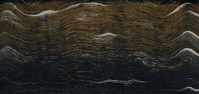 Luxury Golden Dragon 65.5x132, 2 cm, Polished, Black, Gold, Quartz, Slab