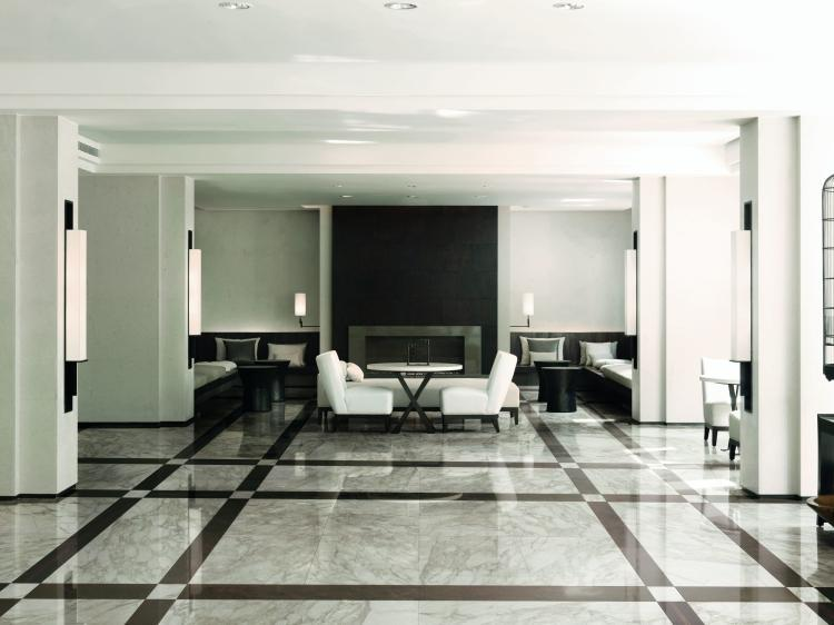 Bianchi Calacatta Polished 12x24 Porcelain  Tile