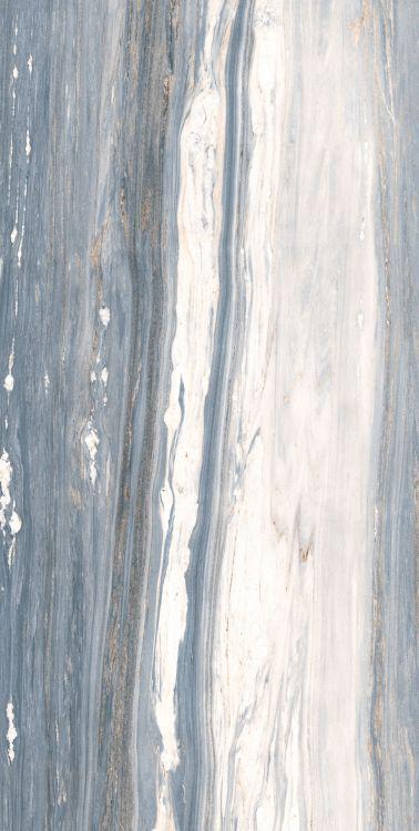 Aurora Blue Glazed, Polished 24x48 Porcelain  Tile