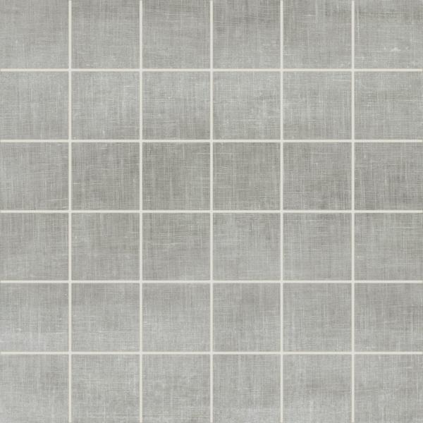 Legacy Grey 2x2, Glazed, Gray, Mesh, Porcelain, Mosaic