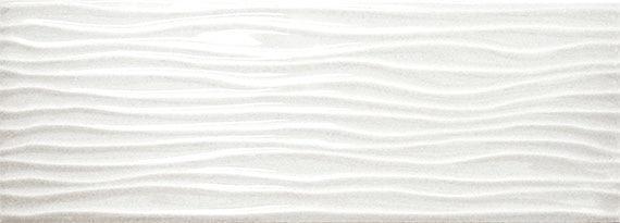 Urban Canvas Group 1 Ice White 4x12, Glazed, Rectangle, Ceramic, Tile