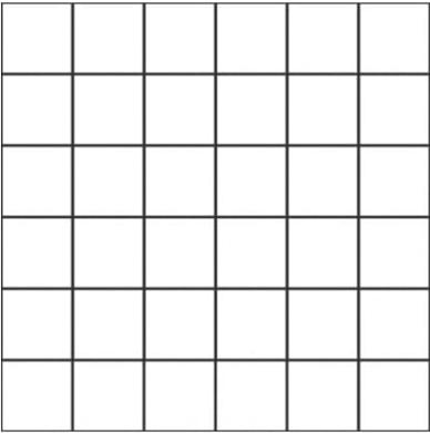 Unicom Icon Jet Black 2x2, Concrete, Natural, Dark Brown, Square, Porcelain, Mosaic