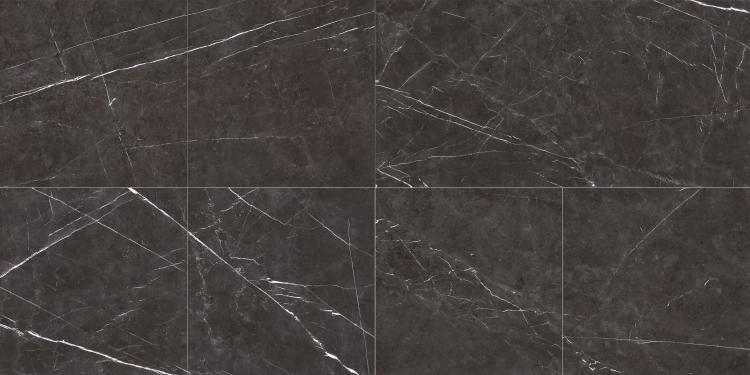 Lava Dark Grey Matte, Glazed 24x24 Porcelain  Tile