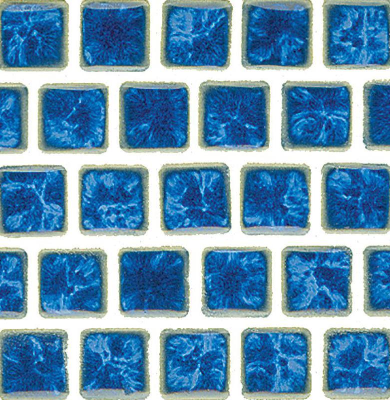 Mini Kyon Lake Blue 1x1, Smooth, Square, Porcelain, Mosaic