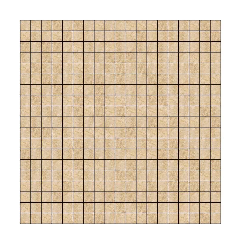 Mosaic Tiles Turco Classico 5/8x5/8 Square Polished Travertine