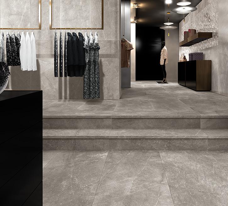 Cermodus Mexicana Silver Satin 12x24 Porcelain  Tile