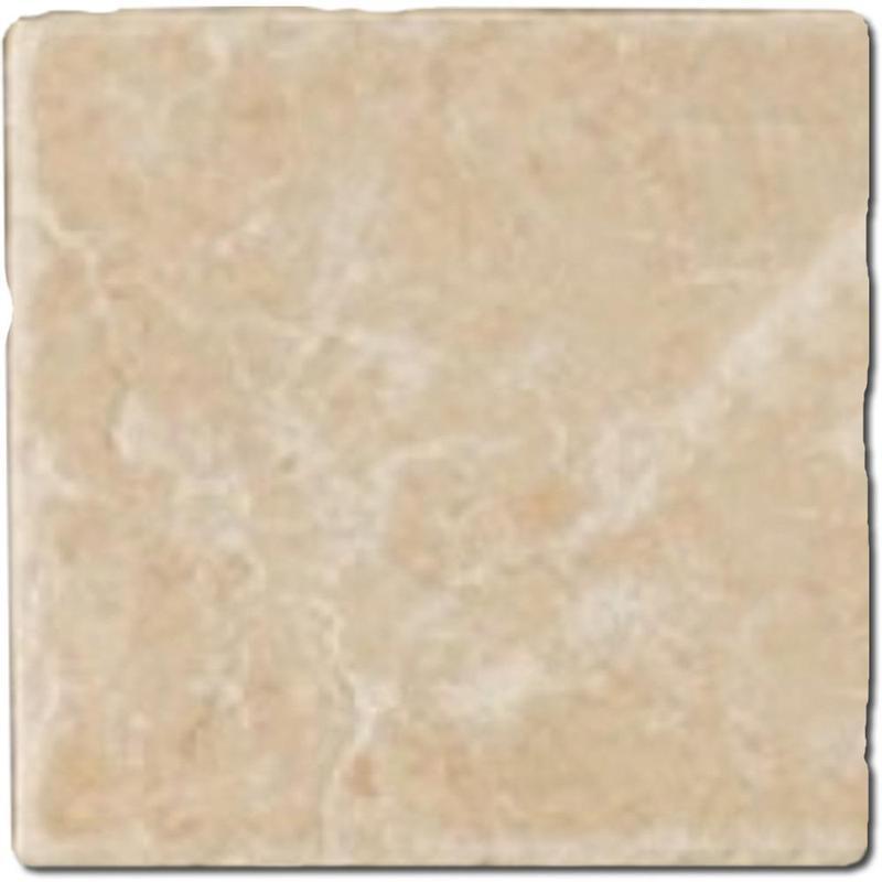 Crema Marfil Marble Tile 4x4 Tumbled