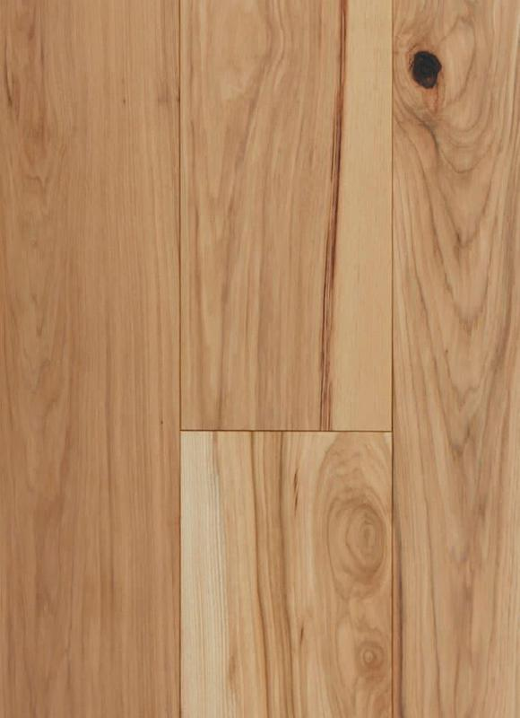 The Casablanca Collection Tiles Kenya Hickory 7xfree length, Hand-Scraped, Engineered-Wood