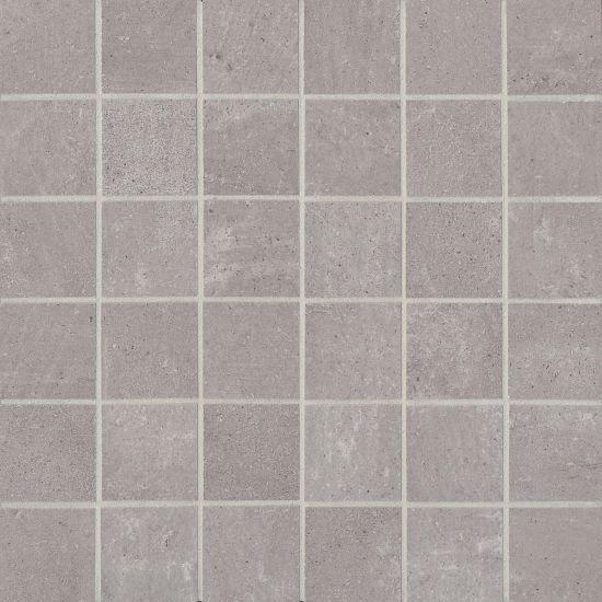 Simply Modern Grey 2x2  Honed Color Body Porcelain  Mosaic