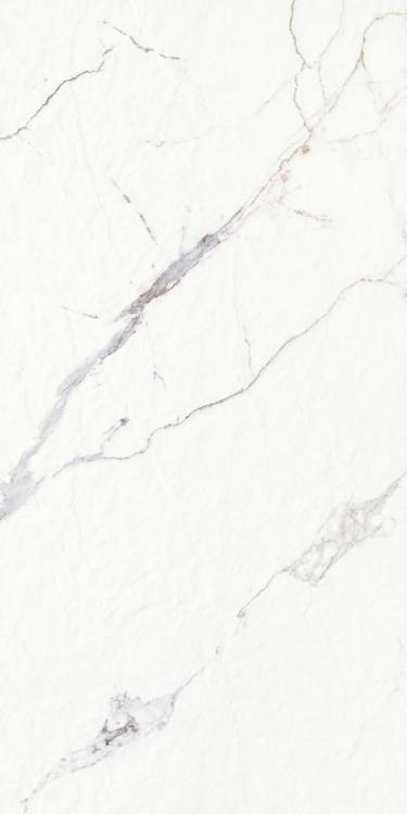 Carrara Premium Stone Matte, Glazed, Textured 12x24 Porcelain  Tile